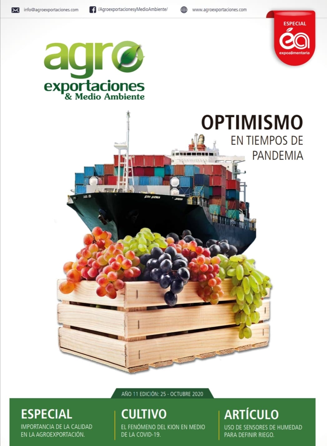 Revista Agroexportaciones & Medio Ambiente Nº 25